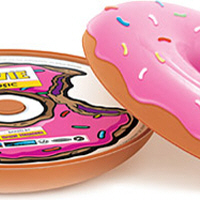 The Simpsons Movie Soundtrack Packaged In A Donut Core77