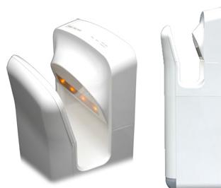 Mitsubishi vs. Dyson hand dryers - Core77