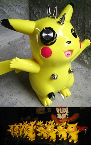 Modified electronic toy