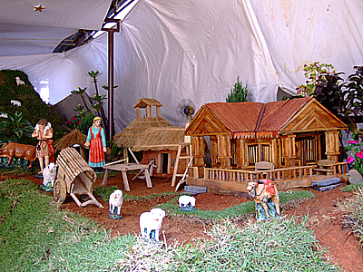 In Keeping With The Spirit Of Season I Came Across These Nativity Scenes Created By Competing Churches Mangalore South India Many More Here