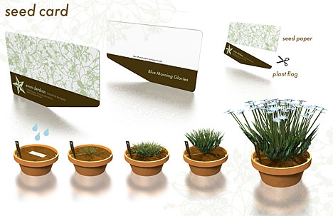 1 Hour Design Challenge Highlight Seed Card Lets You Plant Your