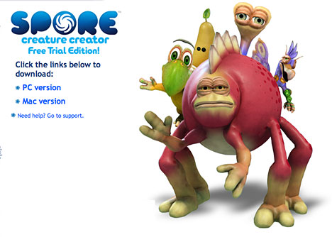 How to get spore creature creator trial *free* youtube.