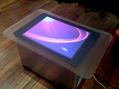 Unboxing Australia S First Microsoft Surface Table Core77
