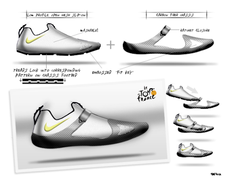 b2a1ae33ece7c5 1 Hour Design Challenge  CYCLING SHOE WINNERS! - Core77