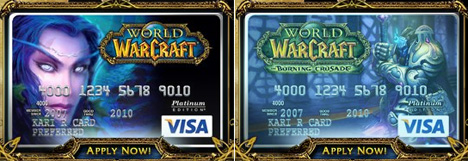 World of Warcraft dating Visa