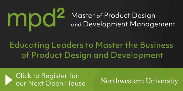 Northwestern University Masters of Product Development Open House